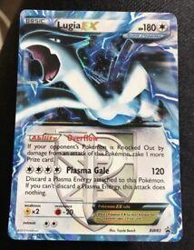 Lugia EX holo card