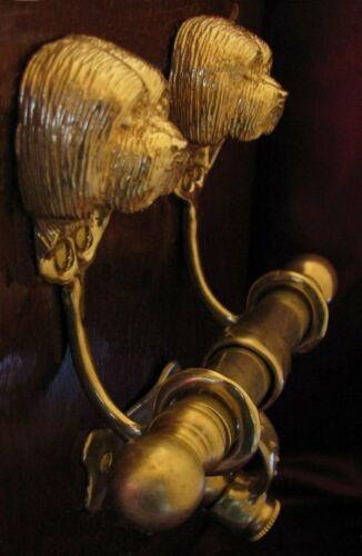 HAVANESE or COTON DE TULEAR Bronze DUET Door Knocker