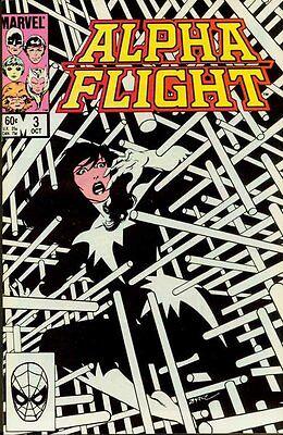 Lot 3 Alpha Flight #3, 8 and 9 VF/NM John Byrne 1983