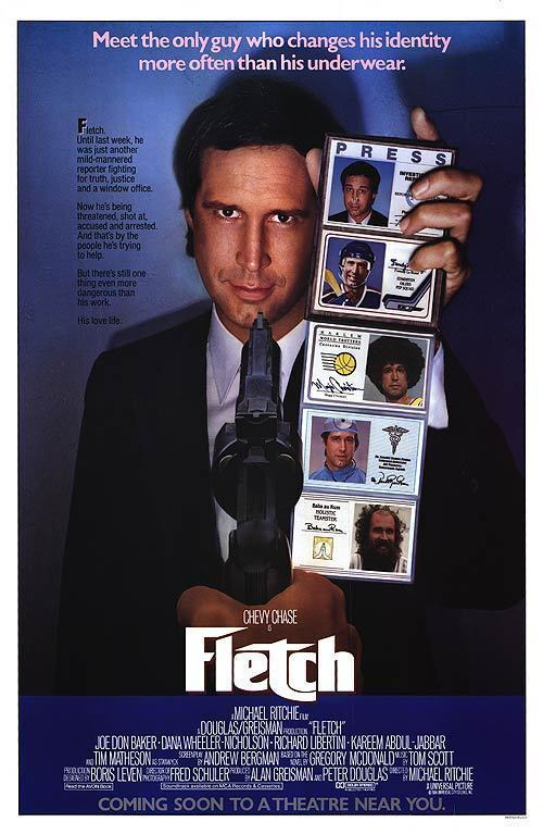 FLETCH (1985) ORIGINAL MOVIE POSTER  -  ROLLED