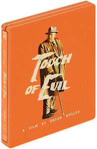 TOUCH OF EVIL HMV EXCLUSIVE STEELBOOK BLU RAY BRAND NEW & SEALED - FREE UK POST