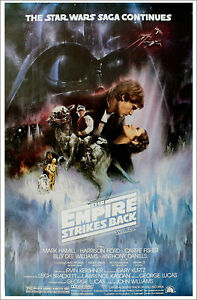 STAR WARS: EPISODE V - EMPIRE STRIKES BACK - MOVIE POSTER (STYLE A) (27
