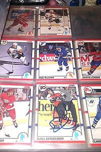 Large Lot of Hockey cards - some signed