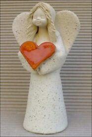 Job lot > 50 beautiful ceramic figurines, handmade, ideal shop/market stall/car boot stock