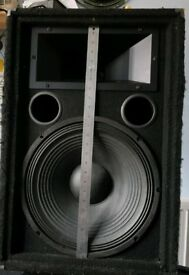 "Pro Sound 15"" 500w/250rms Speakers incl 1K amp"