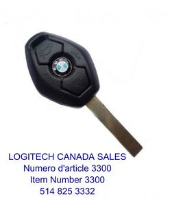 Remote Key Car Fob Clicker for BMW LX8FZV