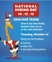"""NATIONAL HIRING DAY - TOYS """"R"""" US!"""