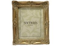 """NEW Classic Style Ornate Gold Photo Frame 10""""x8"""" (254x203mm) - Chelsea by Sixtrees - Unwanted Gift"""
