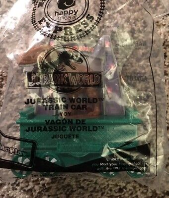 Holiday Express Train Car Mcdonalds Happy Meal Toy  7 Jurassic World 2017 New