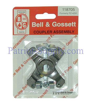 Bell & Gossett B G Coupler Assembly Part# 118705 Plumbing Supplies