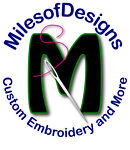 MilesofDesigns Custom Embroidery