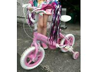 Girls Bike - Princess age between 3 - 5 years in good condition