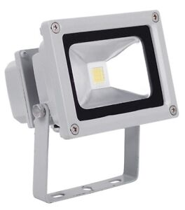 12v ac dc 110v 10w led flood light white floodlight wash. Black Bedroom Furniture Sets. Home Design Ideas