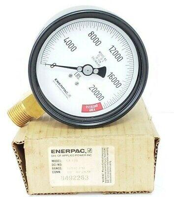 Nib Enerpac Gf10s Gauge Range 10000 Psi Conn 12 Nptlm 8492263