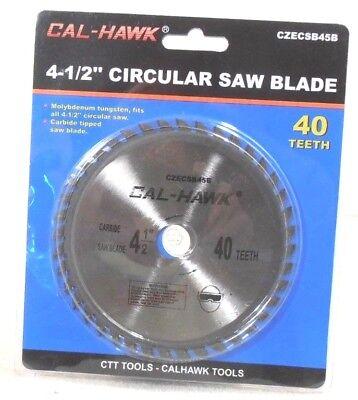 4-12 X 58 Inch Arbor 40 Tooth Carbide Tungsten Circular Saw Blade-wood
