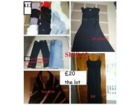 ladies clothes size 12 prices on pics or £20 the lot from a smoke and pet free home