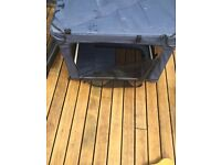 Canvas dog crate/carrier perfect for car