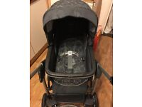 Silver Cross Freeway Travel System and Pram *Includes ISOFIX base*