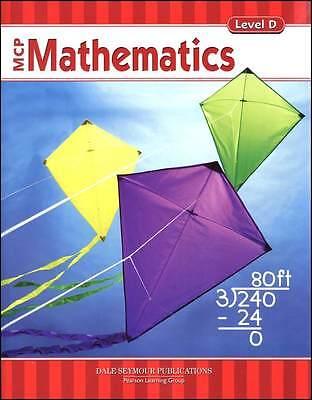 4th Grade 4 MCP Mathematics Level D Math Modern Curriculum Press Homeschool Mcp Math Level
