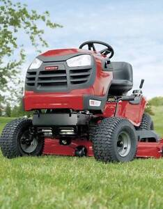 CRAFTSMAN RIDE ON MOWER HYDRO DRIVE 19HP FREE LARGE WHEEL TRALIER Port Kennedy Rockingham Area Preview