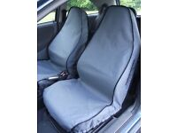Volvo V40 / V40 Cross Country pair of front seat covers in black