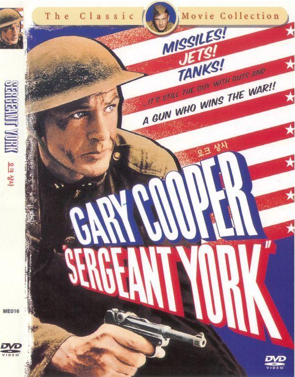 Sergeant York  (1941) GARY COOPER [DVD] FAST SHIPPING