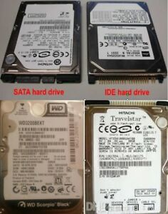 "IDE EIEDE ATA PATA 2.5"" LAPTOP HARD DRIVE PRELOADED WINDOWS"