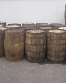Whiskey oak barrels perfect for tables water but etc