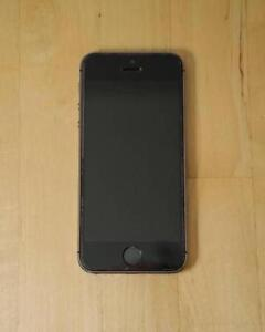 iPhone 5s 16GB Space Grey on BELL