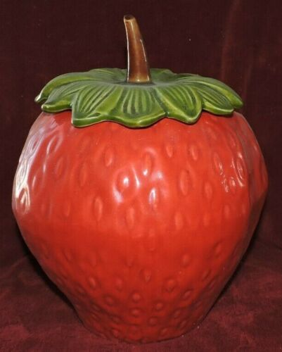 Ceramic Strawberry Jar