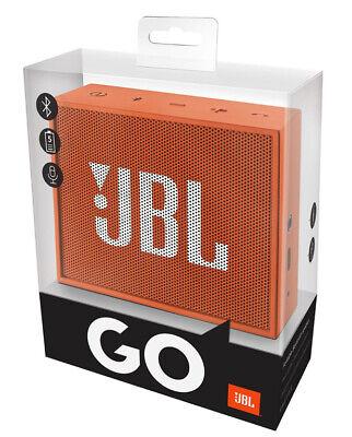 JBL GO Portable Wireless Speaker Orange