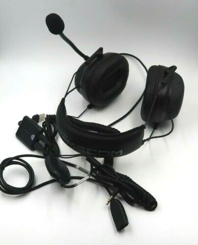 Plantronics Gamecom Commander Black Headband Headsets
