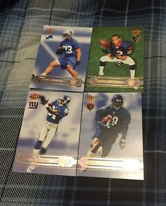 4 2002 Assorted Fleer Ultra Football Rookie Cards