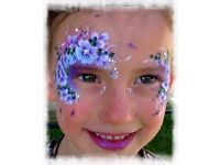 *Professional Face Painter/Glitter/Painting/Glitter Tattoos For Hire ( From £30ph)*