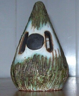Vintage Briglin Pottery Money Box -Cone Shaped, c.1960,1970,Hand Crafted,