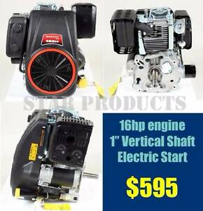 "LONCIN Petrol Engine 16HP 1"" Vertical Shaft - Electric Start NEW Malaga Swan Area Preview"