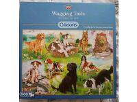 500 piece dog jigsaw puzzle
