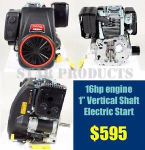 """LONCIN Petrol Engine 16HP 1"""" Vertical Shaft - Electric Start NEW Malaga Swan Area Preview"""
