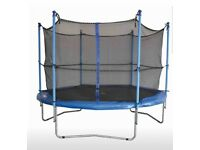 Trampoline 1pft with safety net