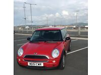 2002 MINI ONE HATCH 3dr 2 KEYS GOOD CONDITION OPEN TO OFFERS