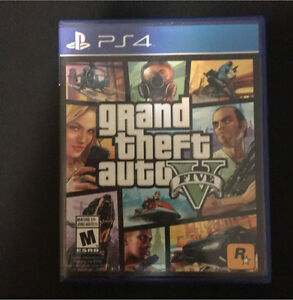Gta V for ps4