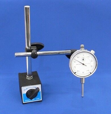 Dial Indicator Set With Onoff Magnetic Base New Free Shipping
