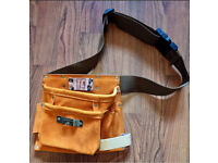 TOOL BELT BY T & C Workwear Leather And Suede BNWT