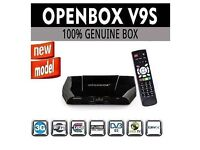NEW Openbox V9S (Latest model with WIFI) and 12 Month Gift