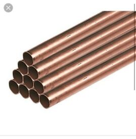 Copper pipe £20 each 35mm x 3m