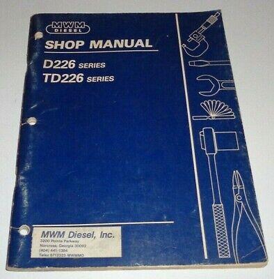 Details about  /Service Manual Murphy Diesel 6 Cylinder Power Unit