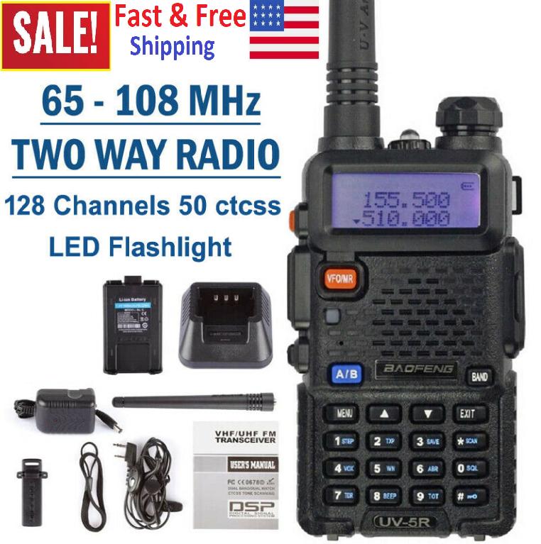 Digital Handheld Radio Scanner Fire Police VHF FM EMS Ham 2