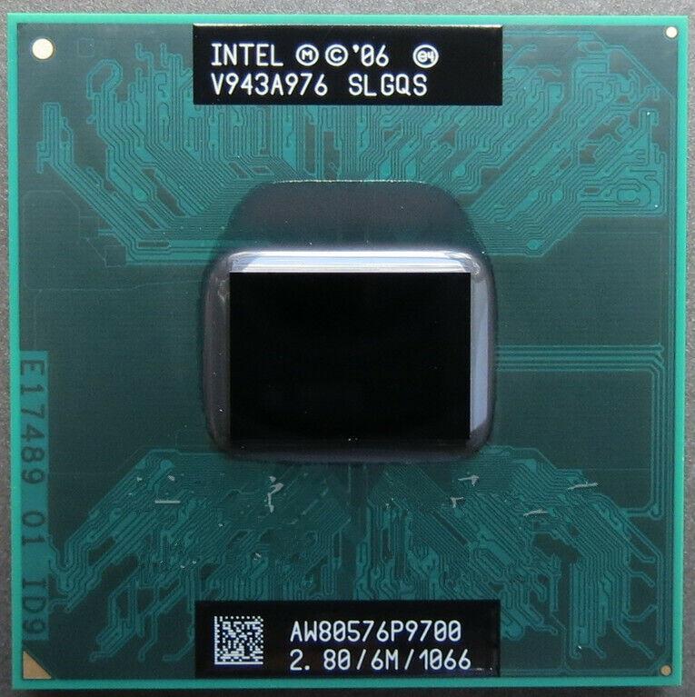 Intel Core 2 Duo P9500 P9600 P9700 1066MHz Socket P CPU