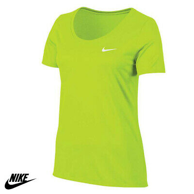 WOMANS NIKE DRI-FIT ATHLETIC WORKOUT SHIRT GYM YOGA RUNNING TRAINING TENNIS -