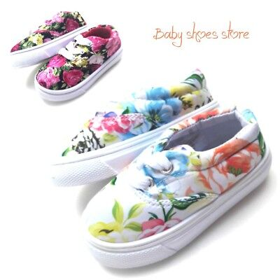 Infant toddler girls canvas tennis shoes 4-10 (New Infant Toddler Girls Shoes)